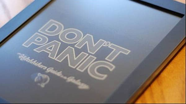 Kindle Reader - Don't Panic